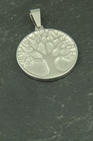 Baum des Lebens Edelstahlschmuck für Halsketten