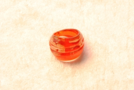Muranoglas Ring rot/gold